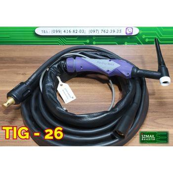 TIG Горелка PRO-26, 4м